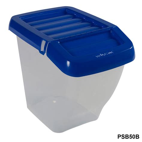 L Recycle Boxes by Wham Storage Recycling Bin With Hinged Lid Plastic
