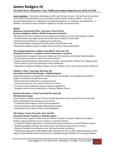 kronos resume resume ideas