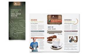 coffee shop brochure template word amp publisher