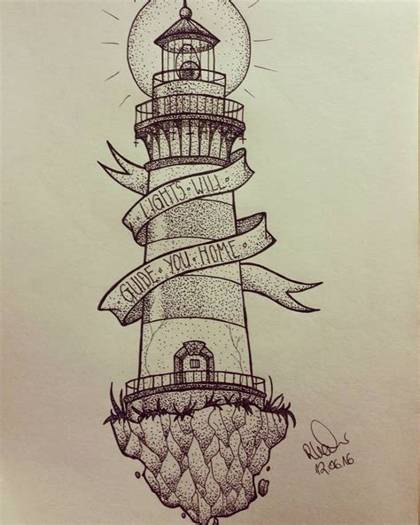 lighthouse tattoo design 25 best ideas about lighthouse drawing on