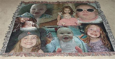 Blanket With Picture Woven In It by Collage Photo Blanket Photo Collage Blankets Personalized