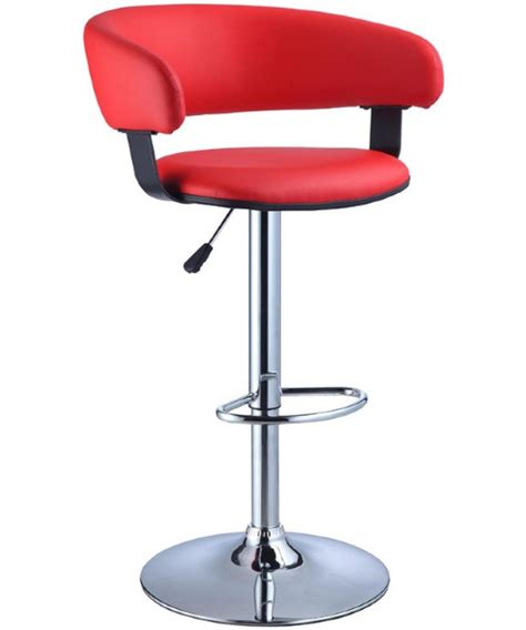 Bar Stools For 300 Pounds by Powell Chrome Adjustable Height Barrel Bar Stools