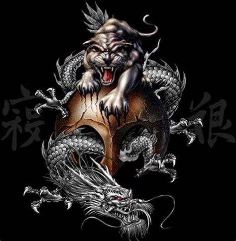 animal tattoo wallpaper animal on a black background dragon tiger skull