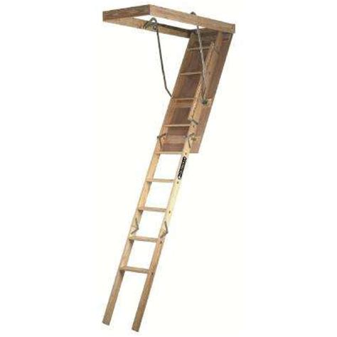 8 attic ladders ladders the home depot