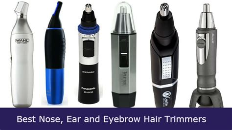best hair clippers of 2014 pros cons reviews 10 best nose ear eyebrow hair trimmers 2017 reviews