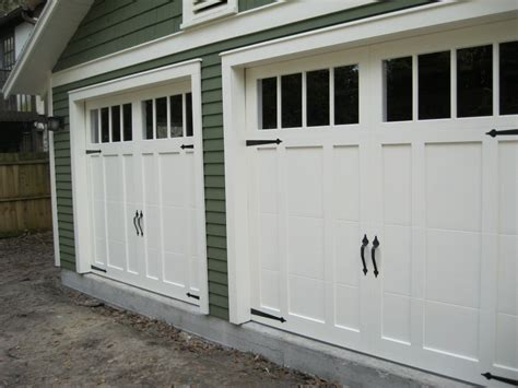 Craftsman Style Garage Doors Homesfeed Garage Doors Ideas