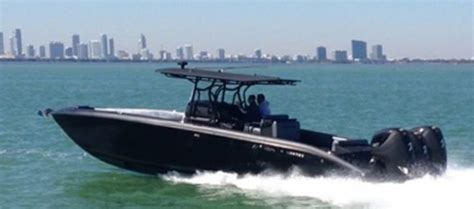midnight express boat seven marine seven marine 557 biggest outboard engines sea trial