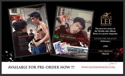 the orphan film bruce lee pre order bruce lee forever march issue the little dragon