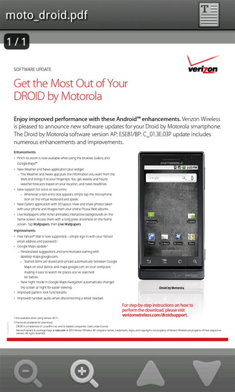 adobe reader app released on android droid
