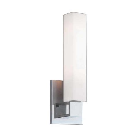polished chrome bathroom sconces hudson valley livingston 1 light bathroom sconce
