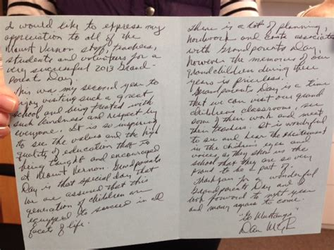 thank you letter to grandparents a thank you note from a grandparent chip houston