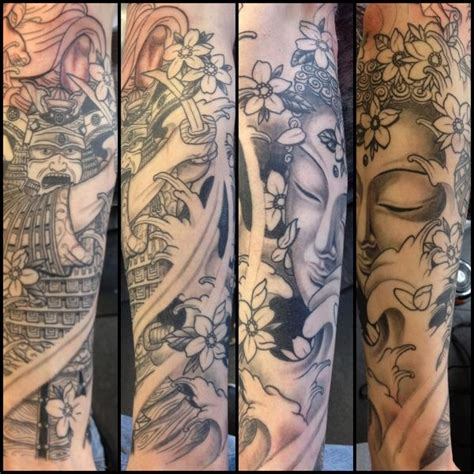 tribal buddha tattoo samurai and buddha tribal buddha back for