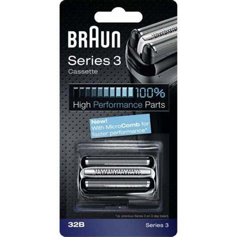 braun series 3 32b cassette braun 32b series 3 black cassette foil cutter pack