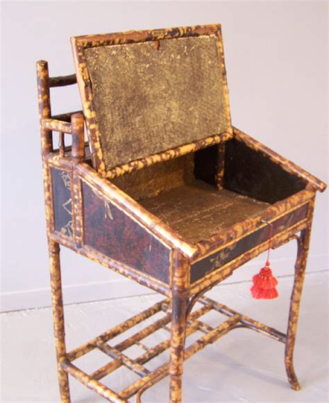English Bamboo And Lacquer Standing Desk C1880 Item Standing Desks For Sale