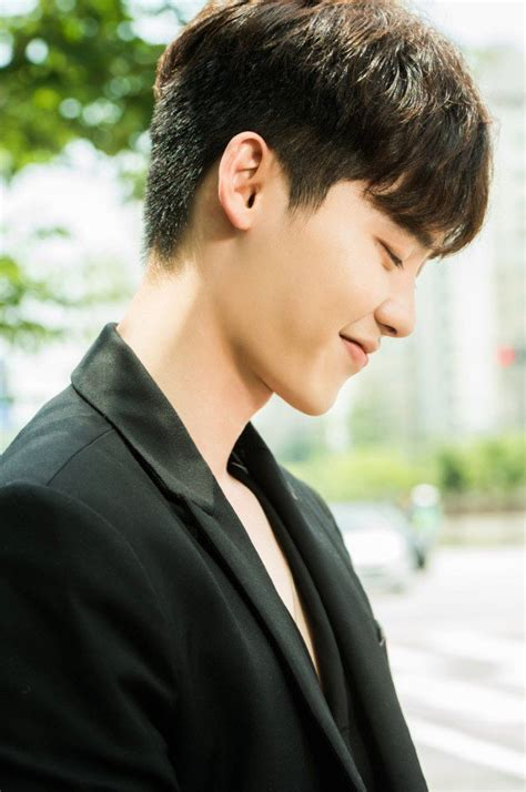 Lee Jong Suk Biodata | lee jong suk shows off his playful boyish side in w