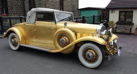 1931 liberace gold cadillac gm authority