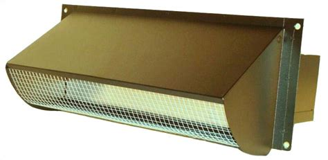 Kitchen Exhaust Vent Wall Cap by Black Side Wall Vent Cap