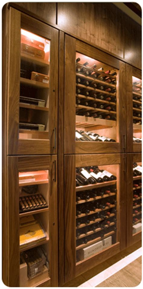 cave a vin design 287 bad cigar humidor and wine lockers it s a s cave