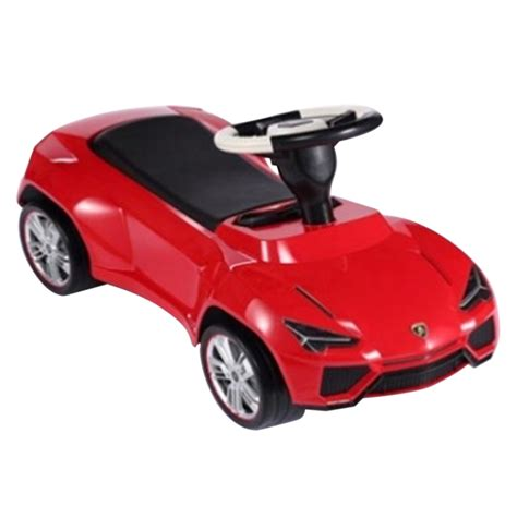 kid car lamborghini lamborghini urus licensed ride on push car red
