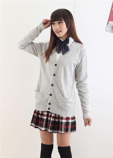 Shjt217122806445 Blouse Korea Knitted Blouse Black Khaki japanese kawaii knitted sweater cardigan 183 asian