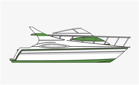 yacht clipart hand painted yacht single line vector line clipart yacht