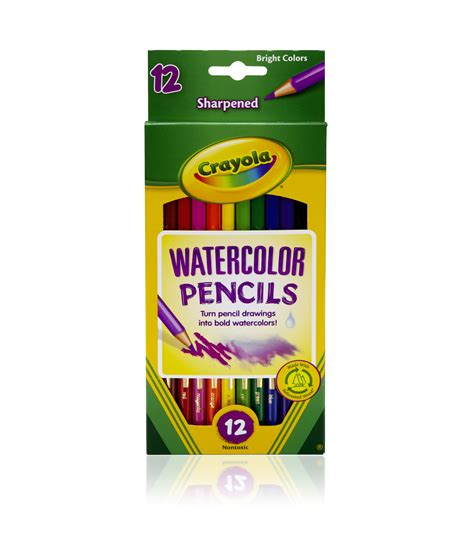crayola 12 ct watercolor colored pencils at joann