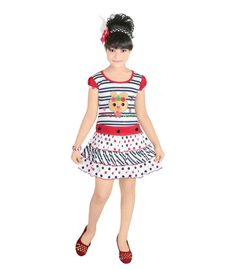 half froks pic justkids red cotton half frock for girls buy justkids