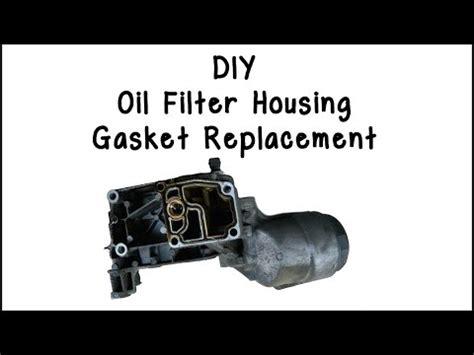 BMW 328i Oil Filter Housing Gasket DIY E90 N52 FunnyDog.TV