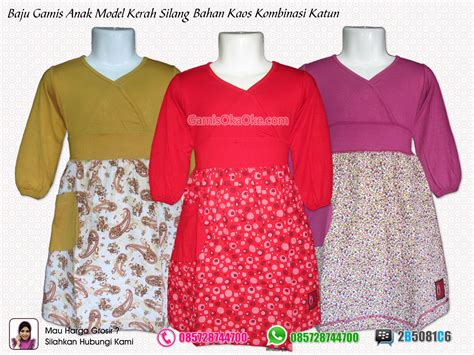 model baju dewasa pin gamis anak unik refanes model strawberry 187 187 busana