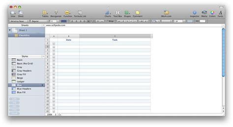 Apple Spreadsheet Software by Microsoft Office Tips And Guides Numbers The