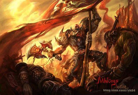 Lining Wow 2 0 Warrior Original warrior by dicksu warcraft horde vs alliance