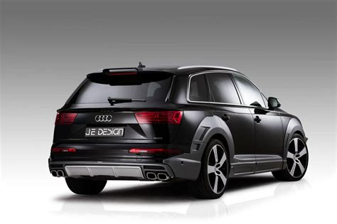 official audi sq7 and q7 widebody by je design gtspirit
