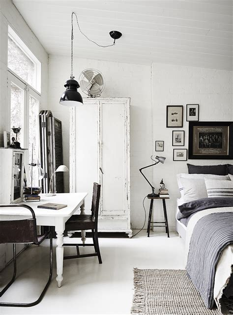 black and white home interior the white room vintage and rustic interiors