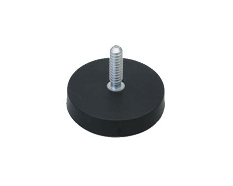 Rubber Magnet rubber coated pot magnets china cs magnet