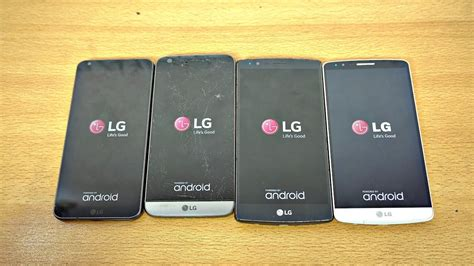 lg g6 vs lg g5 vs lg g4 vs lg g3 speed test 4k