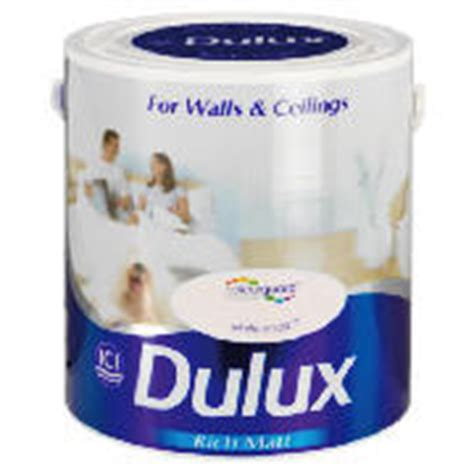 This Dulux Matt White Chalk Paint Offers Unique Colour
