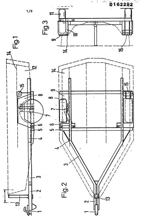 Wohnwagen Selber Bauen Vorschriften by Patent Ep0162292a1 Kraftfahrzeuganh 228 Nger Zum Transport