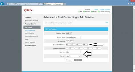 port forwarding server ip address how to access the raspberry pi desktop with a remote