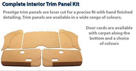 Triumph Spitfire Door Card Template by Triumph Spitfire Premium Bespoke Interior Trim Packages