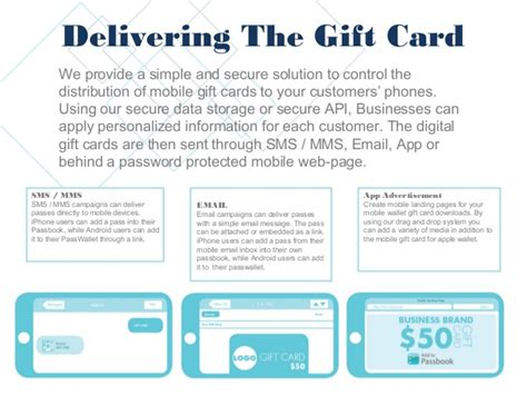 Mobile Gift Card Generator - mobile gift card generator for apple wallet