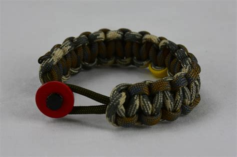 od green desert foliage desert sand foliage military support paracord bracelet unity band w red