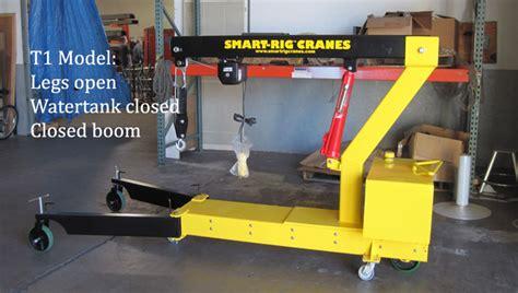 Smart Rig Cranes Launches T1 Model Electric Floor Crane