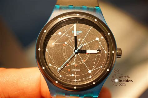 Swatch System 51 Automatic the new swatch with an automatic movement called swatch sistem51 presented by nick hayek