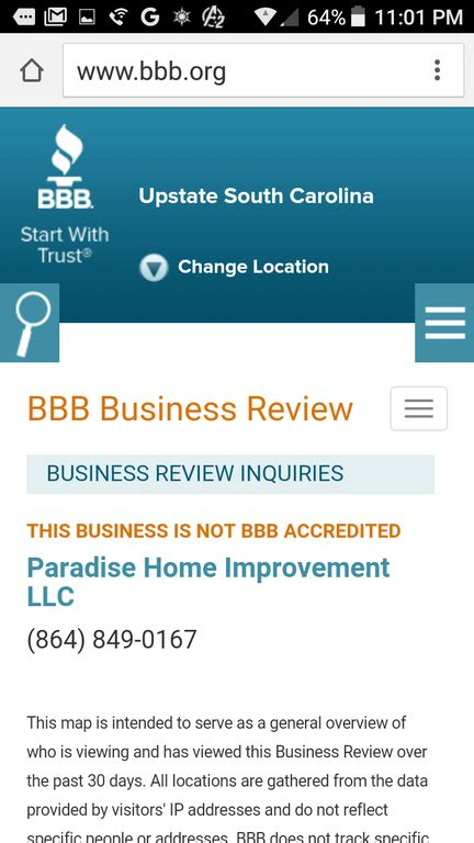 paradise home improvement greenville sc home review