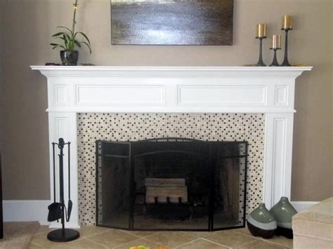 White Wood Fireplace Mantel by Franciscan Wood Fireplace Mantel Painted White Different