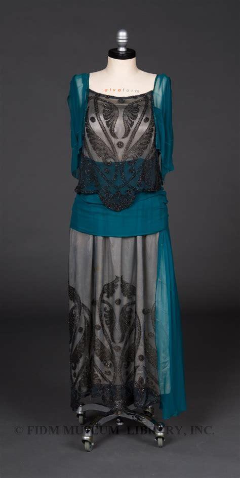 1920s evening dresses fidm museum evening gown 1919 1920