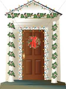 Decorating Porch Columns For Christmas House With Outdoor Christmas Decorations Religious