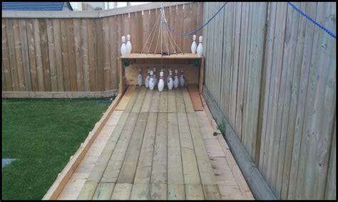 backyard bowling lane garden furniture ideas to make your neighbours jealous
