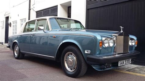 rolls royce silver shadow 1977 rolls royce silver shadow ii for sale 1939083