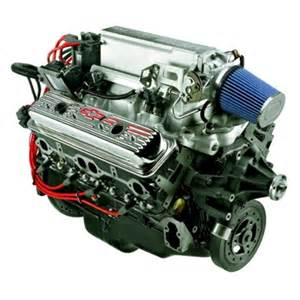 Chevrolet Small Block Crate Engines Gm Performance 12499120 Small Block Chevy Ram Jet 350